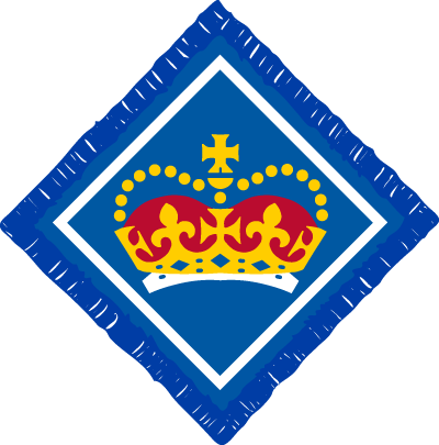 Queens Scout badge